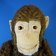 SOLD C1940 Steiff 'Jocko' Monkey Vintage Toy
