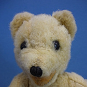"REDUCED 8"" Vintage Mohair Jointed Mohair Teddy Bear Probably German"