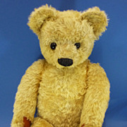 SOLD Huge 28&quot; Chad Valley Mohair Teddy Bear c1950 Vintage