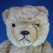 "REDUCED 18"" Hermann German Teddy Bear Vintage c1950s"