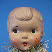 "5.5"" Composition Fairy Doll Similar to a Campbell Kid C1930s"