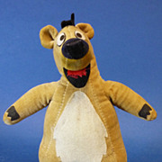 c1966 Original Walt Disney Baloo Vintage Soft Toy