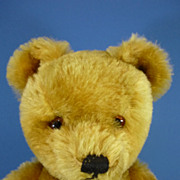 REDUCED 16&quot; Twyford Golden Mohair Bear Vintage c1960
