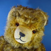 "REDUCED 13"" Vintage Hermann Teddy Bear Plush c1950s German Vintage"