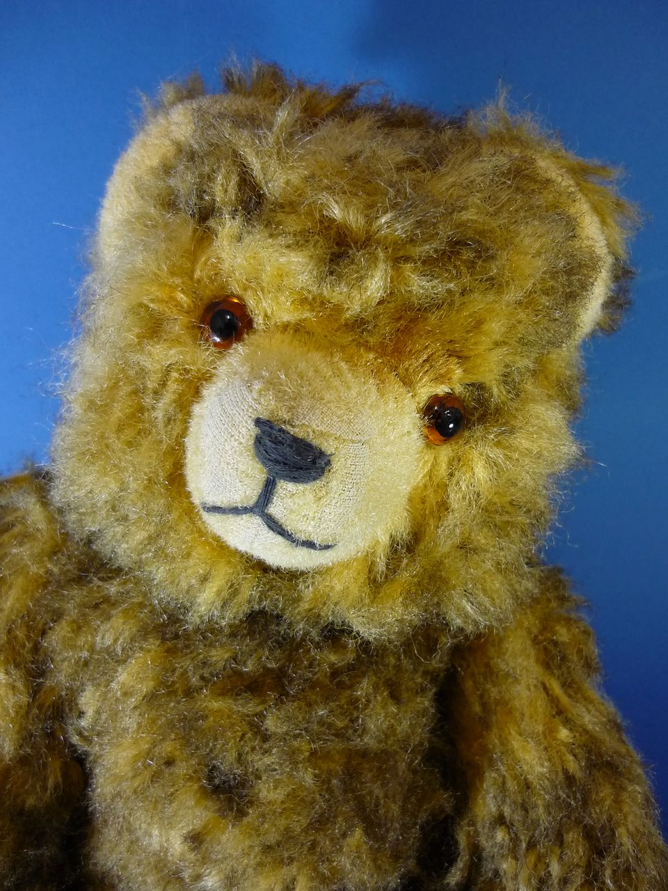 "13"" Vintage Hermann Teddy Bear Plush c1950s German Vintage"