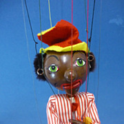 Pelham Puppet SM Minstrel Vintage Toy C1960s