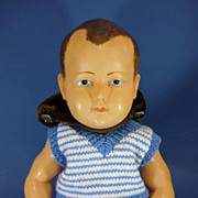 "REDUCED 17"" French Character Celluloid Doll c1930"