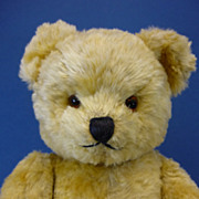 SALE PENDING C1960 American Jointed Mohair Teddy Bear 13""