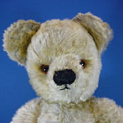 REDUCED c1940s Chad Valley Mohair Teddy Bear Vintage