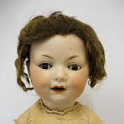 20&quot; George Borgfeldt 327 Character Doll Bisque Head By Armand Marseille