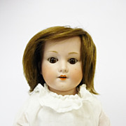 18.5&quot; Wiefel & Co 250 Bisque Head shoulder Head Doll German