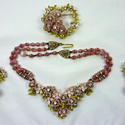 Stunning Necklace Set by  Robert