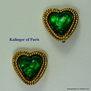 Large Kalinger of Paris Earrings