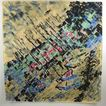 Christian Dior - Paris Vintage Silk Scarf geometric couture design
