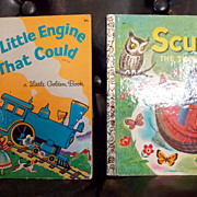 Set of 2 Little Golden Book Classics