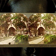 Antique Stereoview Photograph 'The Funeral of President McKinley