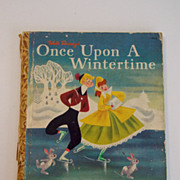 Walt Disney's Once Upon A Wintertime Little Golden Book