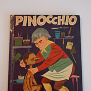 1954 Pinocchio book by Wonder Book