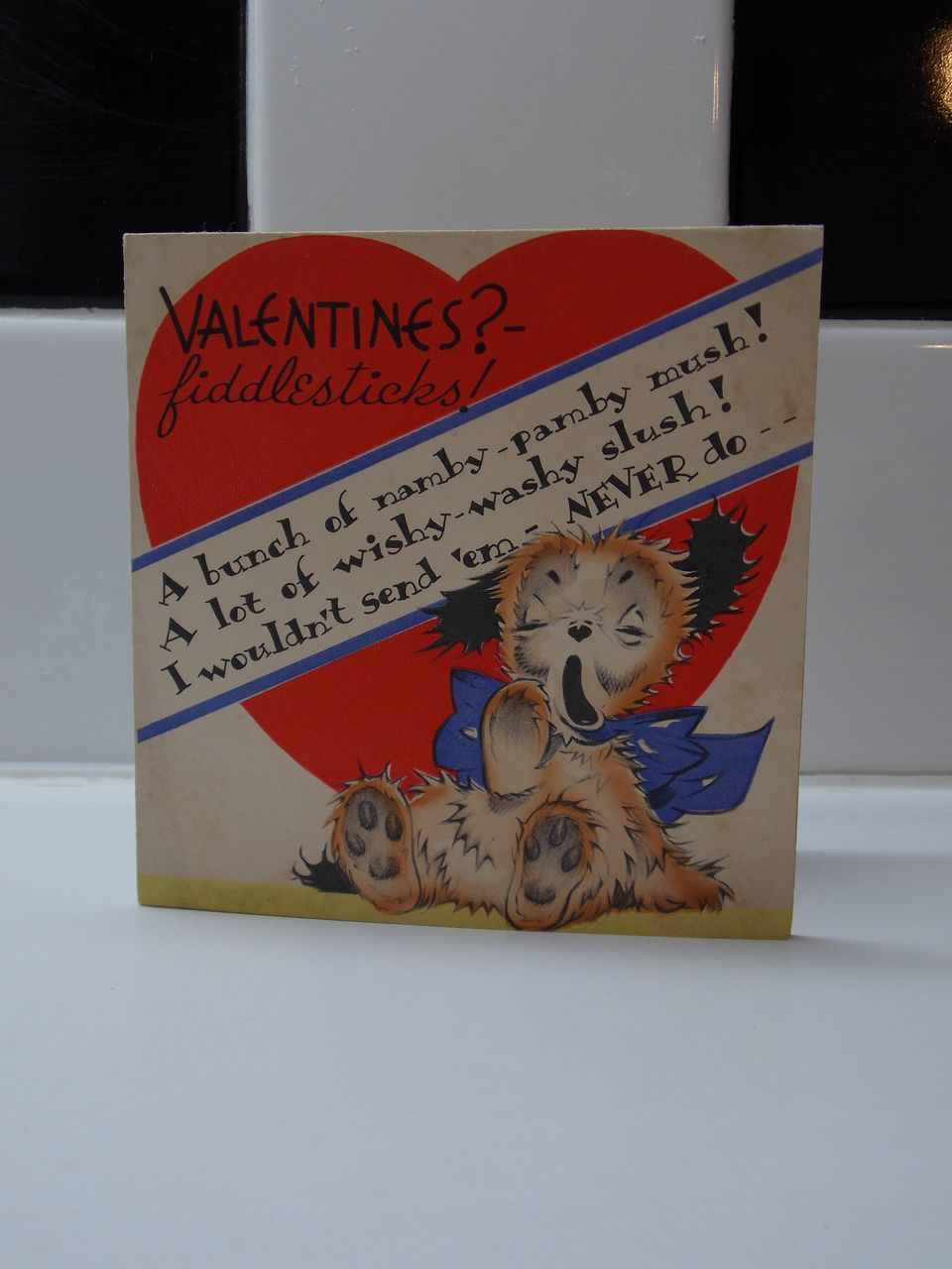 Puppy Dog Valentine's Day Card by Volland