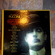 1950's Puccini Record Collection by Angel Records