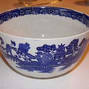 Antique Small Blue Willow Bowl-Made in England