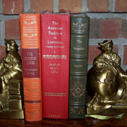 Set of 2 Christopher Columbus Bookends