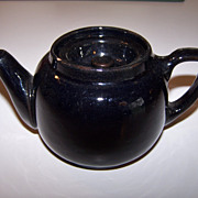 Early One cup Iron Red teapot