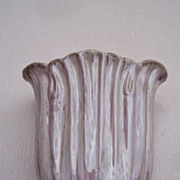 Stangl Pottery Terra Rose Drape vase