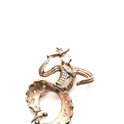 Trifari cowboy Pin Brooch