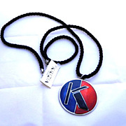 Krizia Made in Italy Runway pendant Necklace