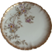 Haviland  Limoges Hand Painted Set of 4 Plates  1882-1900