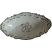 1900 Haviland Limoges France Oval Bowl
