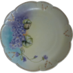 Lovely Violet Plate Klingenberg and Dwenger Limoges
