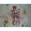 Lovely Victorian Lady  Plate  1800's France