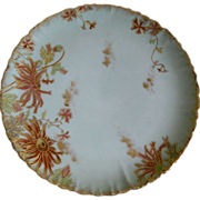 Haviland Limoges Hand Painted Plate 1891-1900