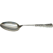 Rare Antique Gorham Sterling Silver Fontainebleau Tablespoon