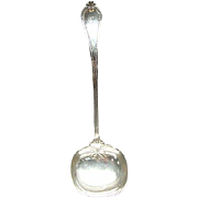 "12 3/4"" Towle Old Newbury Solid Sterling Silver Soup Ladle"