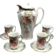 Victorian R S Prussia Floral Chocolate Set