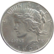 RARE 1934 D Obverse Double Die Silver Peace Dollar