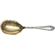 Rare Large Dominick & Haff Sterling Silver Marie Antoinette Serving Spoon