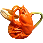 Figural Royal Bayreuth Lobster Creamer