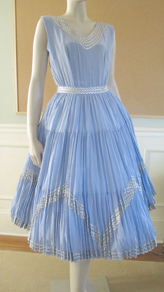 1950's Cocktail Garden Party Dress Rockabilly Swing