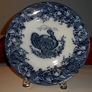 Turkey plate by Wedgwood   10""