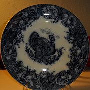 Turkey plate by Wedgwood  10&quot;