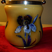Ground Mustard Color Biscuit Jar