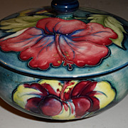 Moorcroft Covered Dish  - English