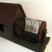 SALE Late 19th Century Folk Art Squirrel Cage