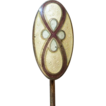Guilloche Enamel Sterling Stickpin