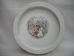 Roseville -Nursery-Baby Plate -1912- Little Bo Peep -7  3/4 by 1  1/2 inches Very Cute, Not Pristine