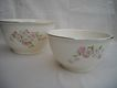 Kitchen Kraft-Homer Laughlin -Virginia Rose Bowls-Two Large and Extra Large